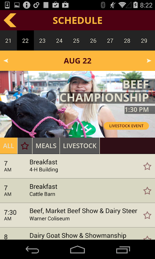4-H at Minnesota State Fair - screenshot