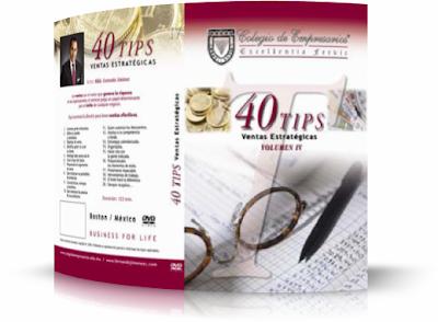 TIPS DE VENTAS ESTRATÉGICAS, Fernando Jiménez [ AudioLibro + Video DVD ] – Directrices y estrategias para tener ventas efectivas