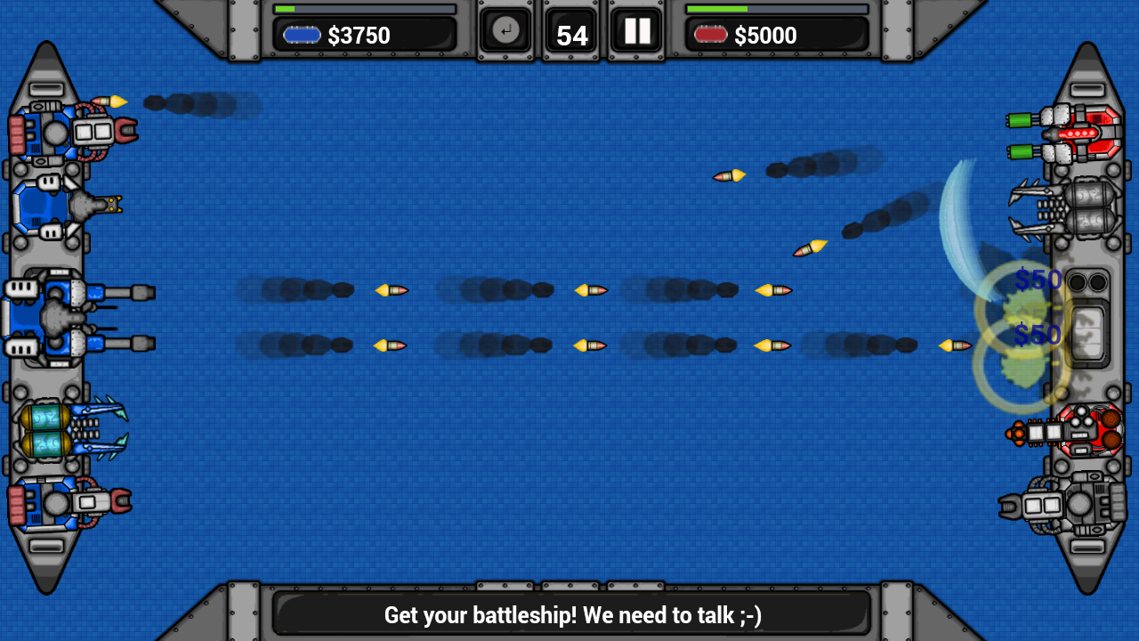 Bombardment - Battleship Duell- screenshot