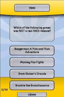Super Nintendo SNES Trivia 解謎 App-愛順發玩APP