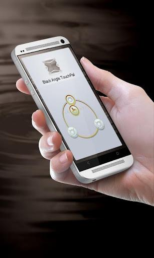 ブラック角度 TouchPal テーマ