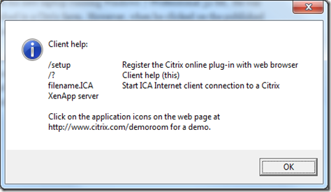 Information Technologies: Citrix ICA Client Not Launching