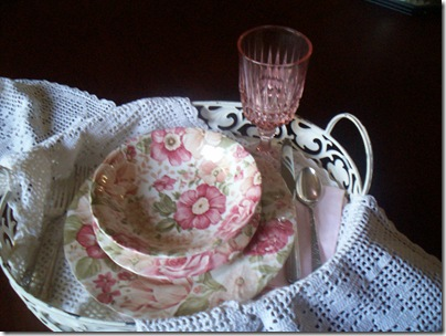 Pink Dishes 001