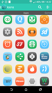 Arus - Icon Pack v2.0