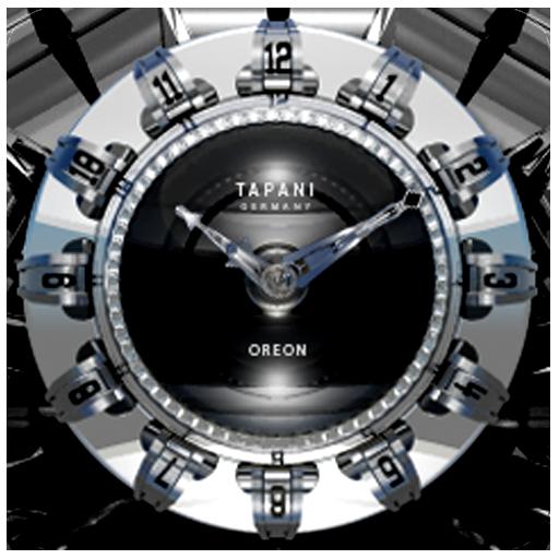OREON Designer Clock Widget