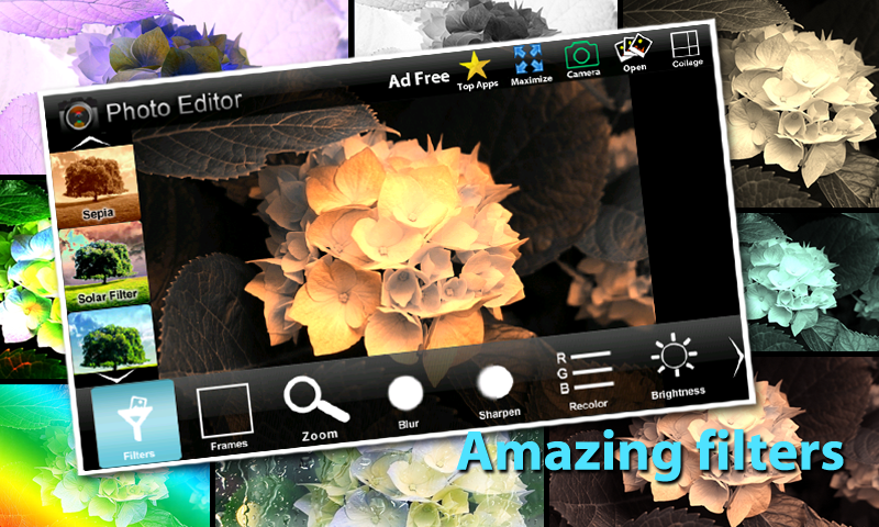 Photo Editor Effects & Collage - screenshot