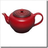 22-Ounce Small Teapot with Infuser in Cherry