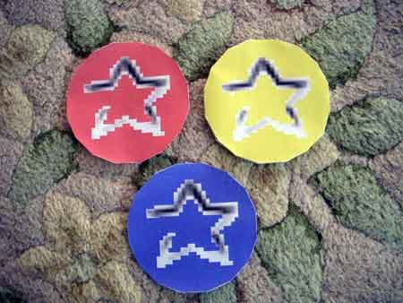 Star Coin Papercraft