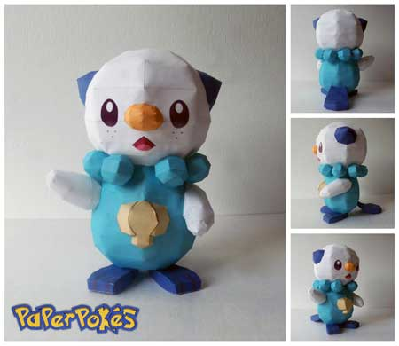Pokemon Mijumaru Papercraft