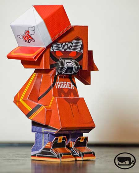 Tagger Paper Toy Sal Azad