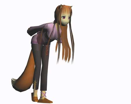 Spice and Wolf Holo Papercraft
