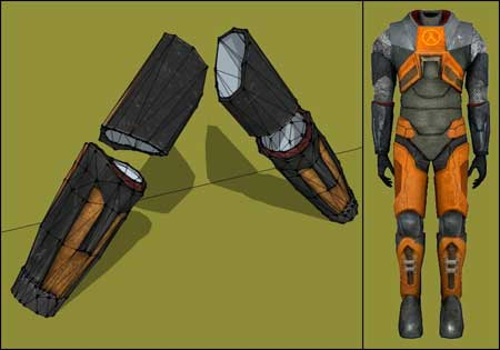 Half Life 2 HEV Arm Guard Papercraft