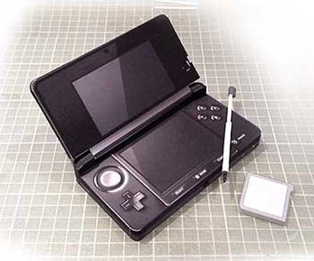 Nintendo 3DS Papercraft