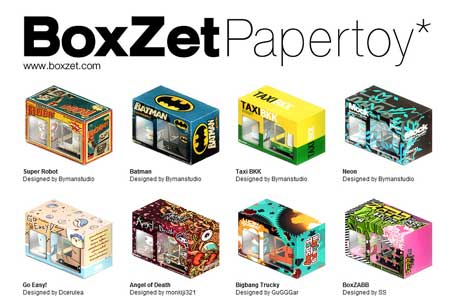 BoxZet Paper Toy Gets A New Home