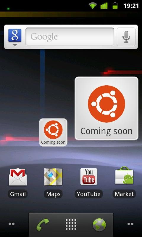 Ubuntu Countdown Widget - screenshot