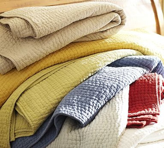 Pickstitch Handcrafted Quilt Amp Sham Pottery Barn Ca Oukas Info