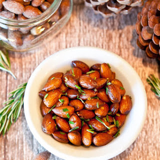 Rosemary Chipotle Roasted Almonds.