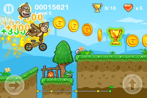 Racing Monkey - screenshot