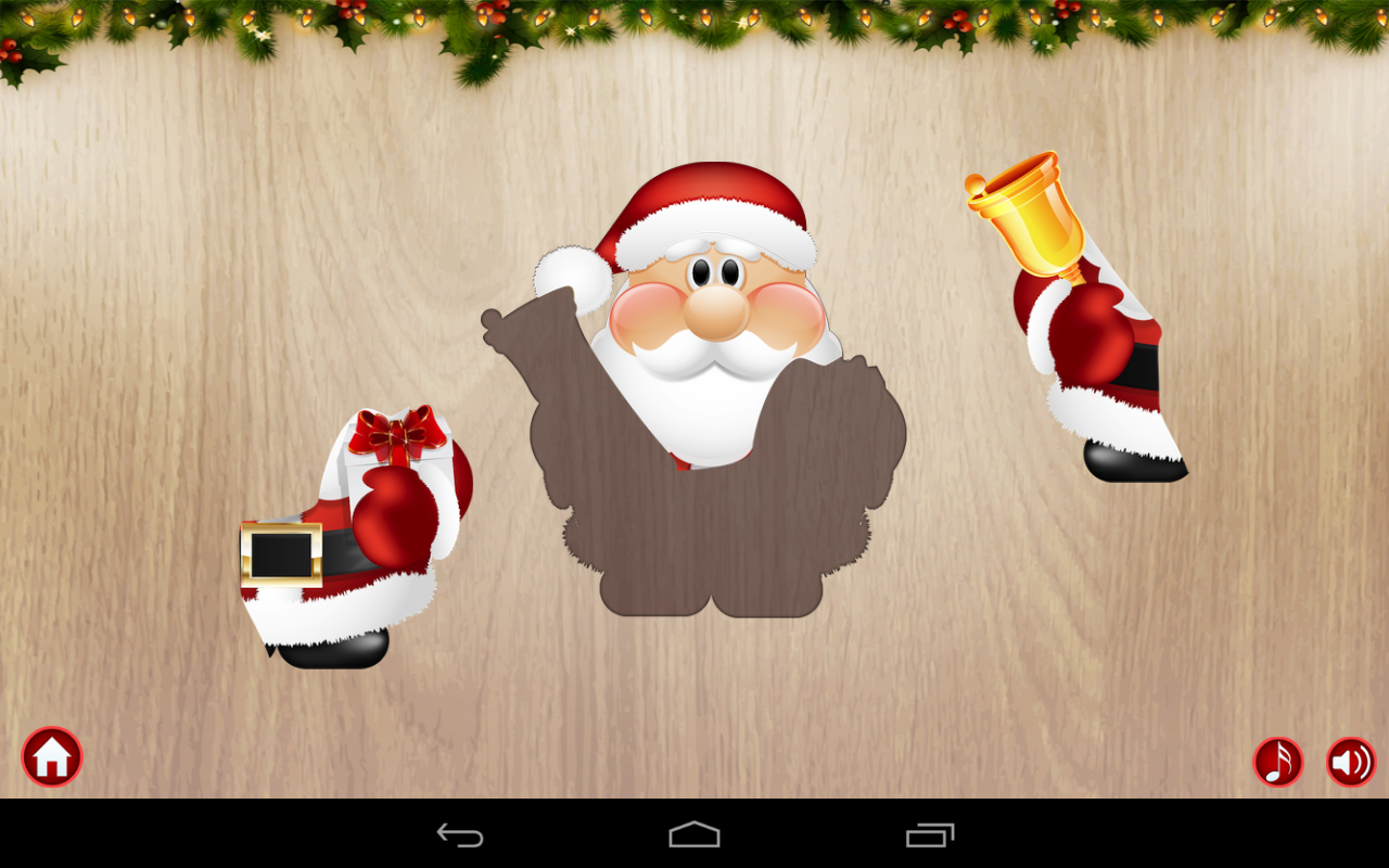 Free Christmas Puzzle for Kids- screenshot