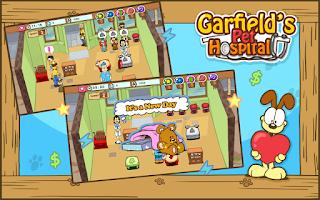 Screenshot of Garfield's Pet Hospital