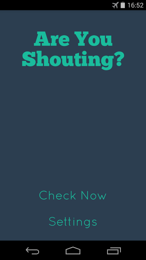 Are You Shouting?- screenshot
