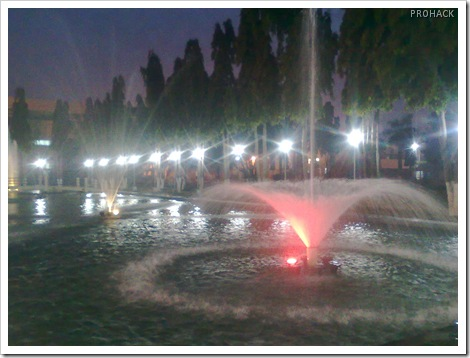 The Fountains at the bridge of knowledge