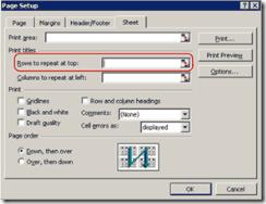 Gambar kotak dialog Page Setup