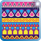 Aztec Tribal Fashion Patterns icon