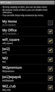 WiFi Ticker- screenshot thumbnail