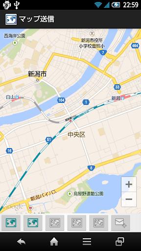 マップ送信SendMapV2