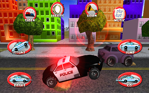 Police Car Race Chase Kids