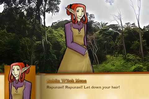 Rapunzel- screenshot