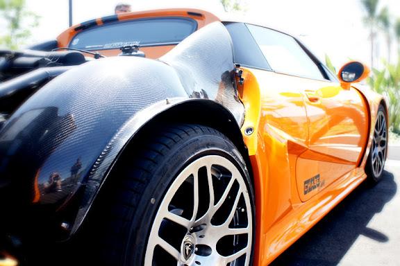 chelmer valley car meet in orange