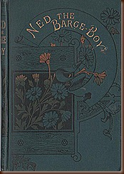 Forgotten Canal Books No2 Cover Ned the Barge Boy