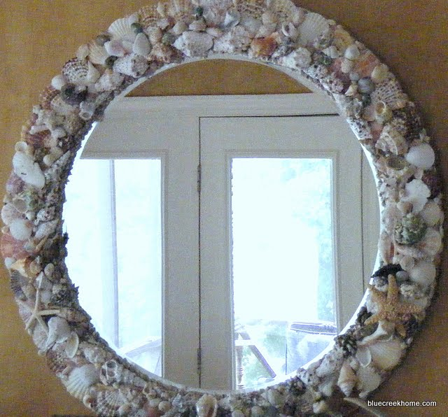 My 36 Seashell Mirror Took Me A Long Time To Make But It S Up And I Like