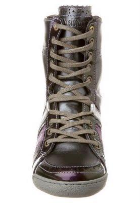 Pantofola d`Oro PESARO Stiefel gun metalprism violet