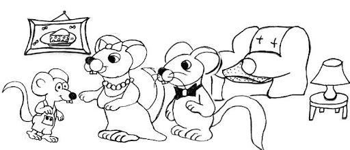 Cuentos Infantiles Cortos Para Colorear E Imprimir Imagui: Ratones Infantiles Para Imprimir