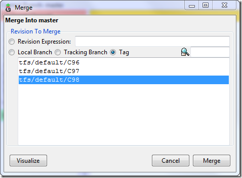 Git & TFS Working Together – Version 2