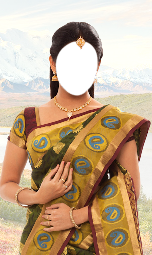 Women Saree Photo Maker