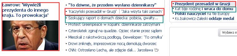 Gazeta Wyborcza, Gruzja, Rosja, prezydent Lech Kaczyński, wizyta, strzały, incydent, Siergiej Ławrow, prowokacja, Georgia, Russia, Saakaszwili