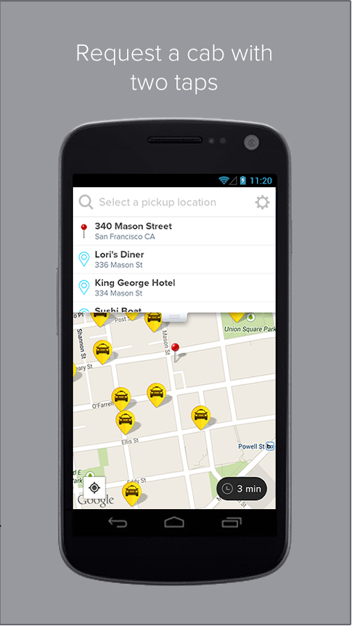 Flywheel - The Taxi App - screenshot