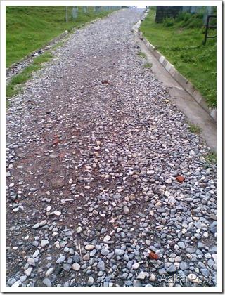 Newly Graveled Road