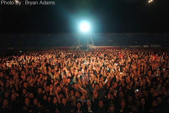 Tonight from the stage....Katmandu, Nepal, you were amazing