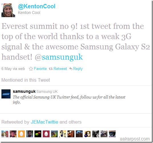 kenton 1st tweet