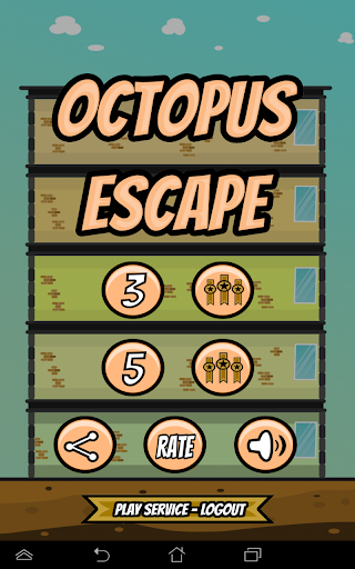 Octopus escape