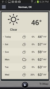 iMap Weather Radio - screenshot thumbnail