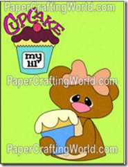 bear with cupcake topper-250wjl