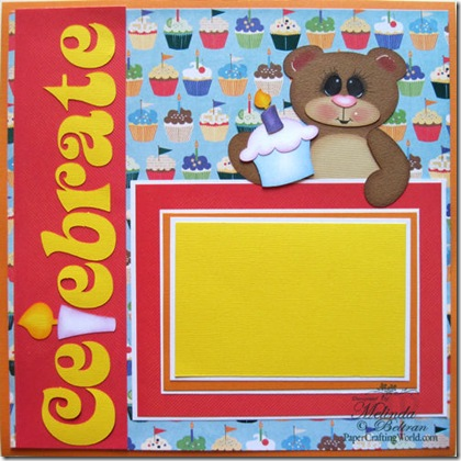 celebrate bear n cupcake my version day 1 500