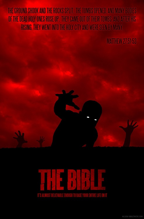 the bible horror poster
