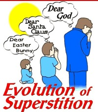 evolution of superstition